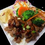 Chicken & Beef Plate